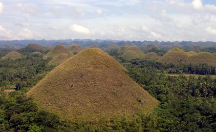 Chocolate Hills auf Bohol Island