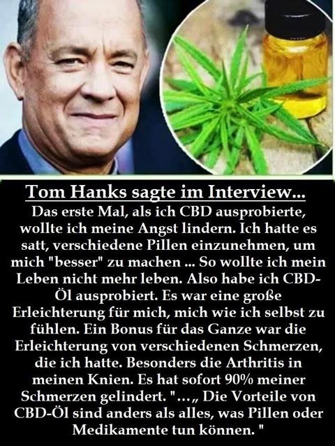 Tom Hanks & CBD