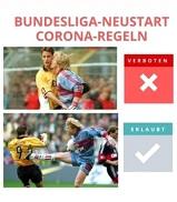 Corana-Regeln im Fußball