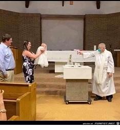 Taufe in Corona-Zeiten