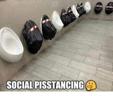 Social Pisstancing