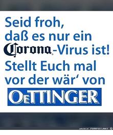 Corona-Virus statt Oettinger-Virus