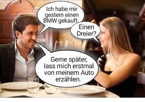 Dreier oder BMW 3er?