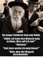 Rabbi & ewiges Leben