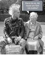 Punk und Oma