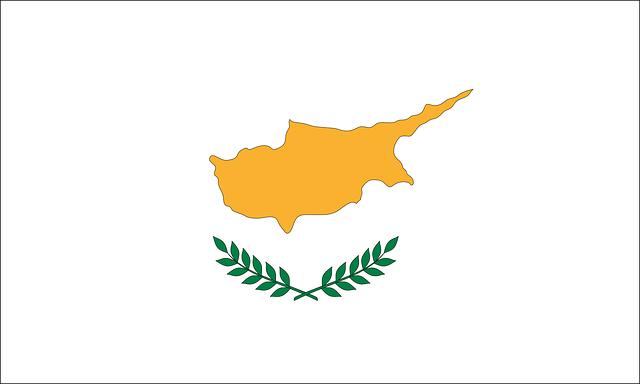 Republik Zypern Flagge