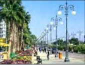 Die Strandpromenade Bay Street in Larnaka